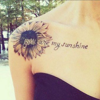 Id es de phrases pour tatouage you are my sunshine - Idee phrase pour tatouage ...