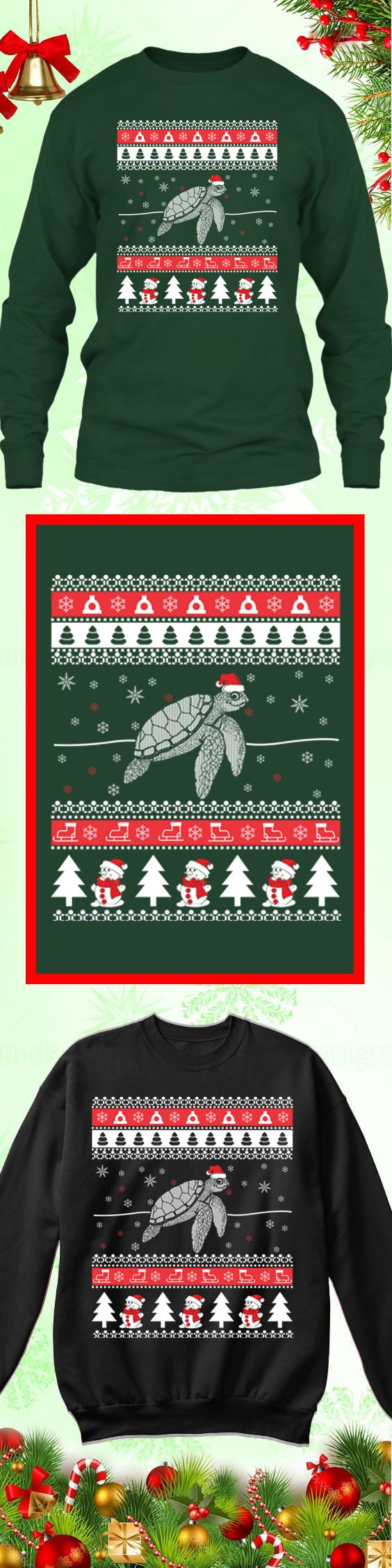 Need a last minute Christmas Gift? Get this limited edition Turtle Ugly Christmas Sweater while supplies last! Buy 2 or more, save on shipping!