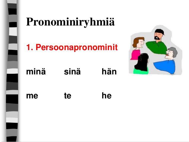 Pronominit