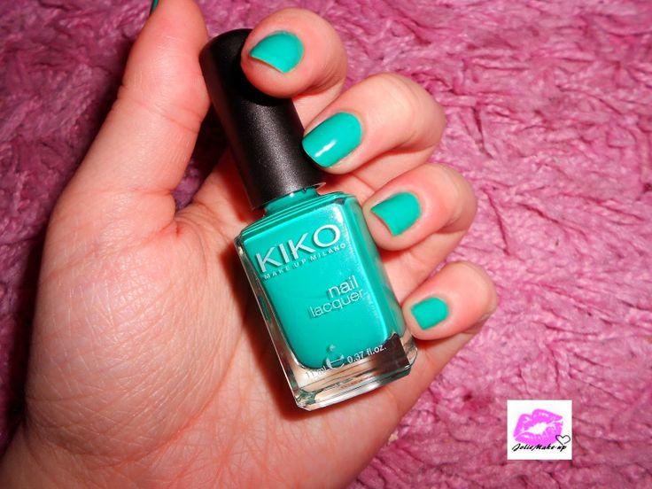 Du Vert Emeraude de chez Kiko sur mes ongles ♥