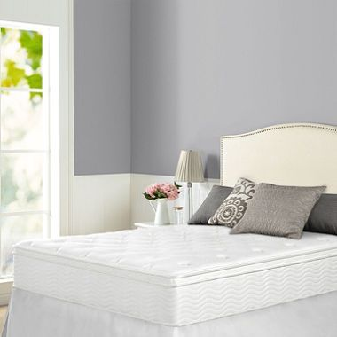 Night Therapy iCoil 12 Inch Euro box Top Spring Full Mattress