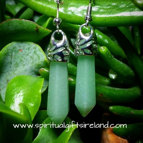 Aphrodite Green Adventurine Earrings Visit our store at www.spiritualgiftsireland.com  Follow Spiritual Gifts Ireland on www.facebook.com/spiritualgiftsireland www.instagram.com/spiritualgiftsireland www.etsy.com/shop/spiritualgiftireland	  We are also featured on Tumblr