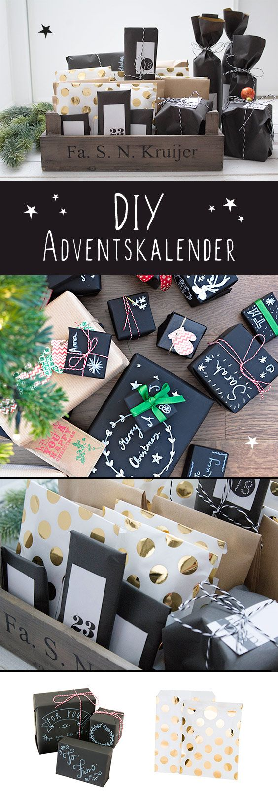 25 best ideas about adventskalender selbst gemacht on pinterest kleinigkeiten f r den. Black Bedroom Furniture Sets. Home Design Ideas