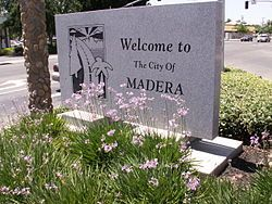 Madera, California-My dad grew up here, and I have family here.  It's PAST time for me to go back...