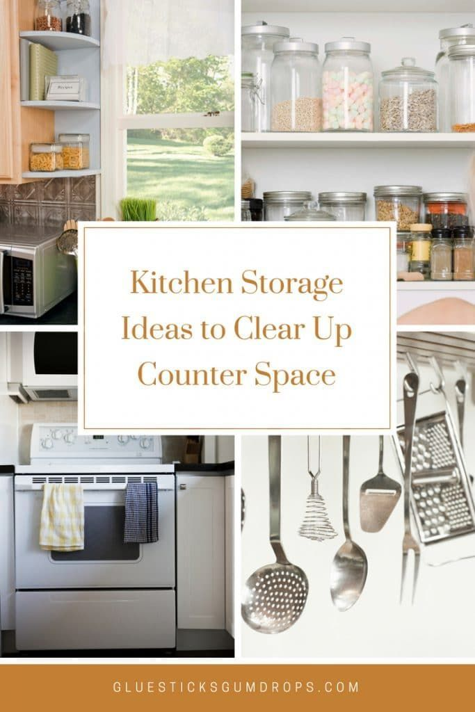 6 Practical Kitchen Storage Ideas to Clear Up Counter Space BEST
