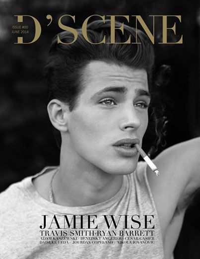 Jamie Wise by Elias Tahan photographed for D'SCENE magazine