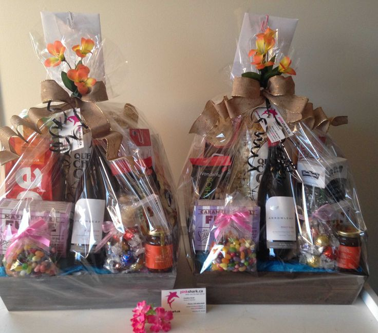 Gorgeous Gift Baskets by.....pinkshark.ca http://www.pinkshark.ca/