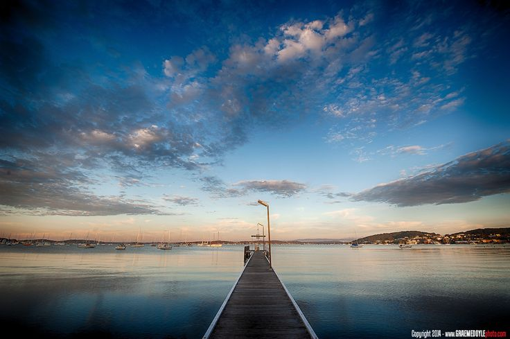 Belmont wharf. Lake Macquarie. Check out my scenic photography at www.graemedoylephoto.com...