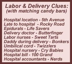 candy baby shower games
