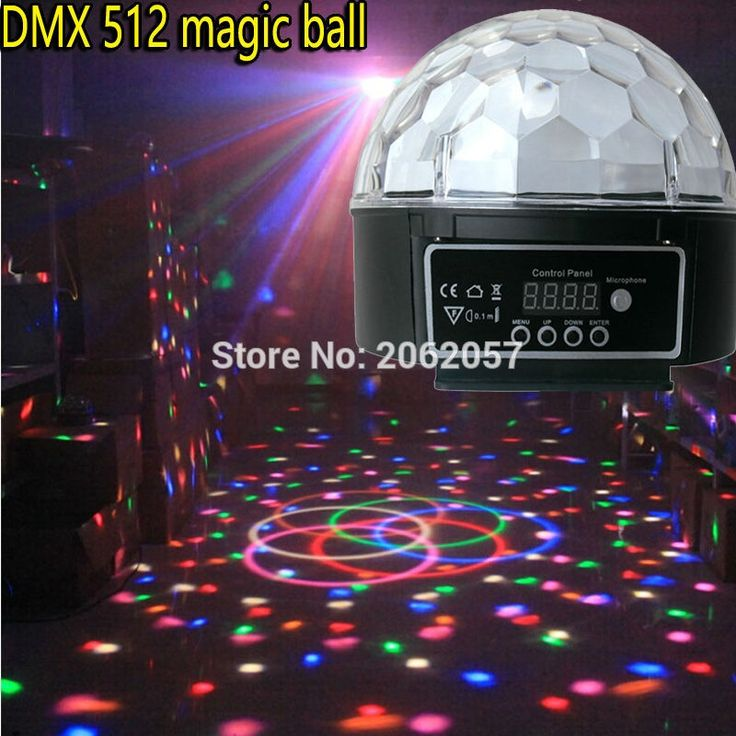 24.50$  Buy here - http://ali613.shopchina.info/1/go.php?t=32673388239 - 18W  LED disco ball light  DMX512 control dj music ball stage effect soundlights Christmas home magic ball  laser party lights  #bestbuy