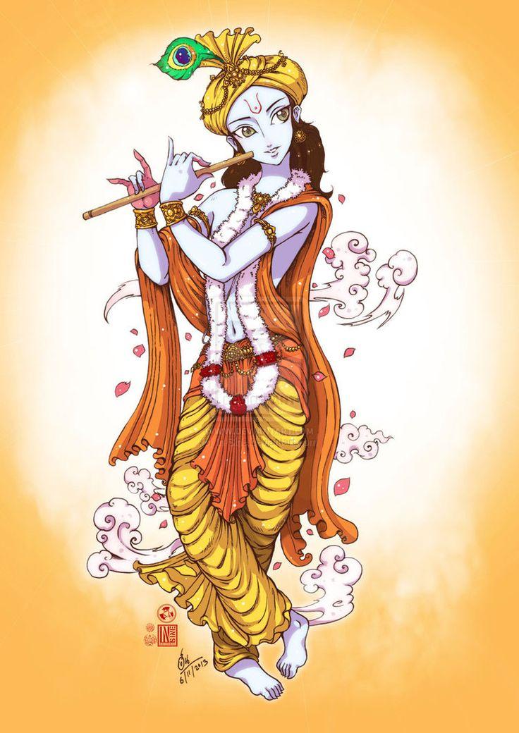 Krishna by In-Sine on deviantART