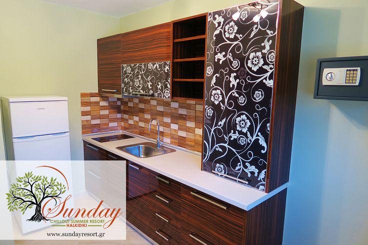 Apartments with fully equipped elegant kitchen !  #SundayHalkidiki #Halkidiki #resort #apartments #Greece #holidays #summer2016
