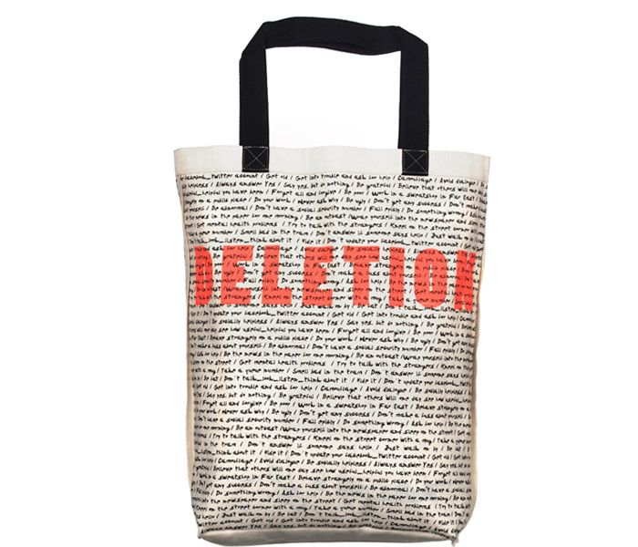 DELETION   Screen printed eco-friendly bag   Design by Nutty Tarts   by BAGNANAS
