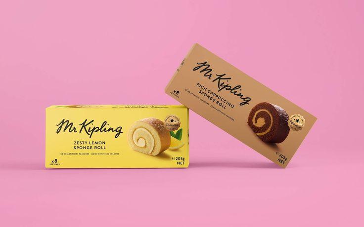 Mr kipling in 2020 mr kipling branding design packaging