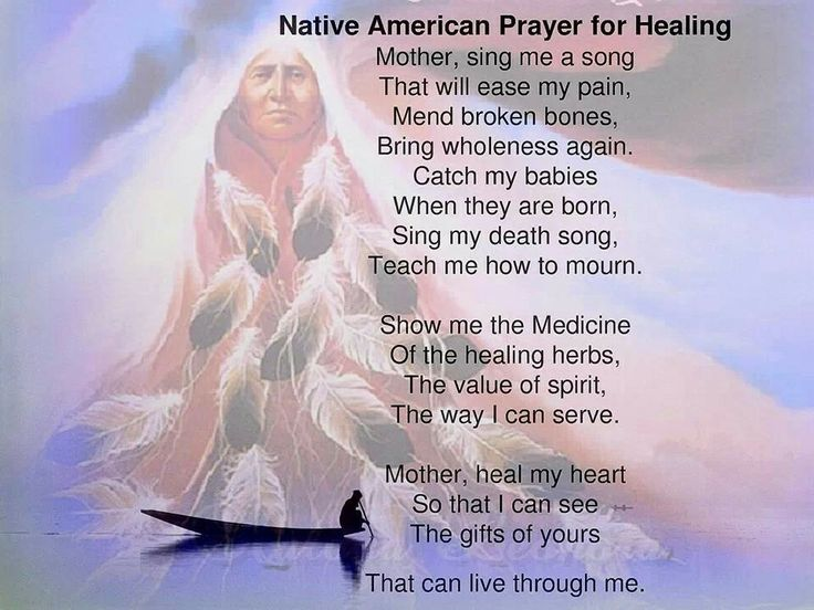 Native American poem for Healing