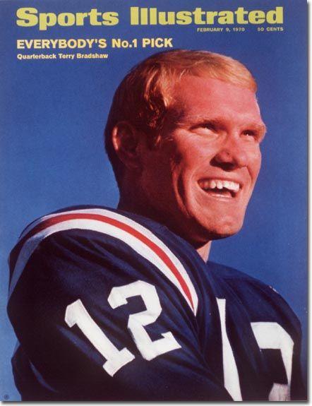 February 9, 1970 - Terry Bradshaw of the Louisiana Tech Bulldogs.