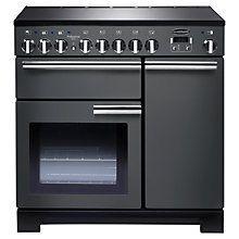 Buy Rangemaster Professional Deluxe 90 Induction Hob Range Cooker Online at johnlewis.com