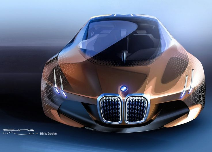 BMW Car Dsign Sketching