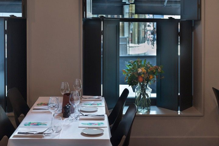 One Leicester Street: Come for dinner, stay the night - @Remodelista