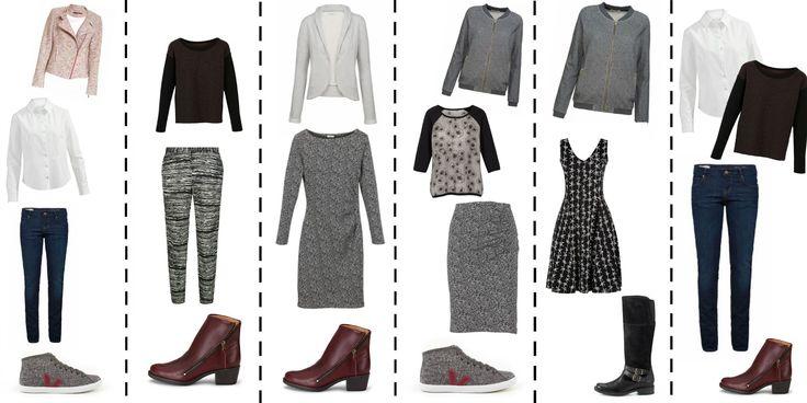 Wie funktioniert eine Capsule Wardrobe ? Ein Beispiel mit einer fair Fashion Capsule. Minimalistische Garderobe