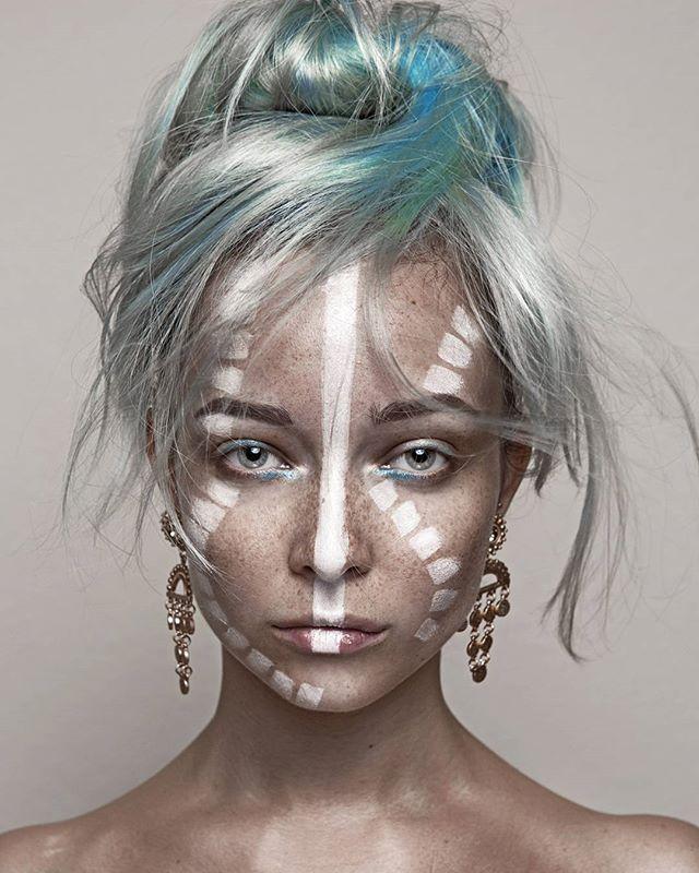 ATLANTIS Mua/model/photography @daryna_barykina #btconeshot_makeup16