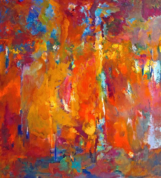 Abstract Impressionism: Works of art by Carol Carpenter