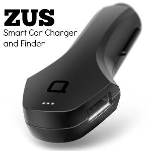 The ZUS Smart Car Finder and Charger is an excellent product for keeping track of were your car is parked and for charging your cell phone.