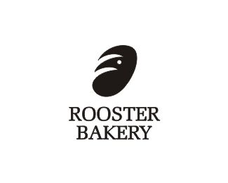 Rooster Bakery logo by shtefsokolovich