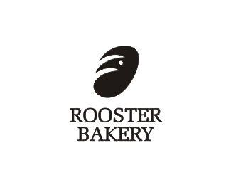 Rooster Bakery logo by shtefsokolovich