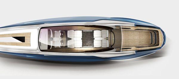 Rolls-Royce 450EX yacht concept by Stefan Monro » Yanko Design