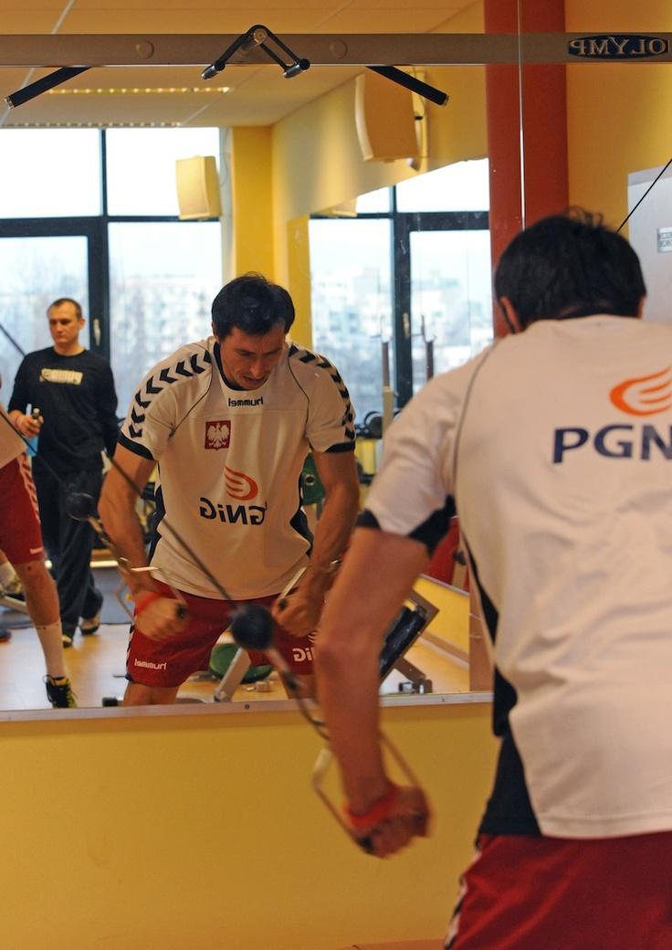 AD2013 January Sławomir Szmal – siłownia – przed wyjazdem na New Year Cup 2013