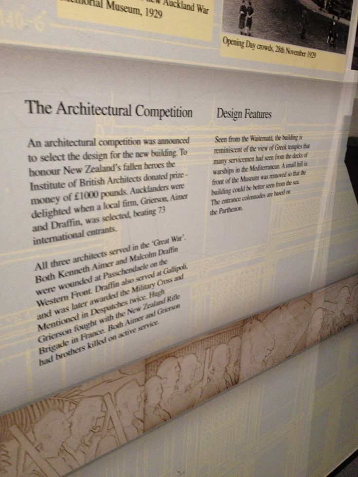 Details of architecture of AKL museum