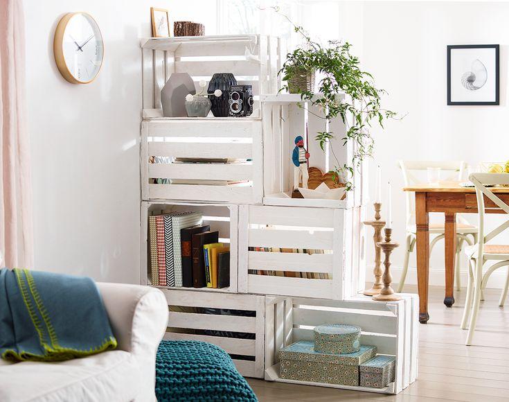 Rumsavdelare med förvaringsmöjlighet | MY HOME DIY