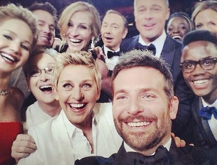 86th Academy Awards, Oscar 2014, Winners Selfie @Matt Valk Chuah Royale