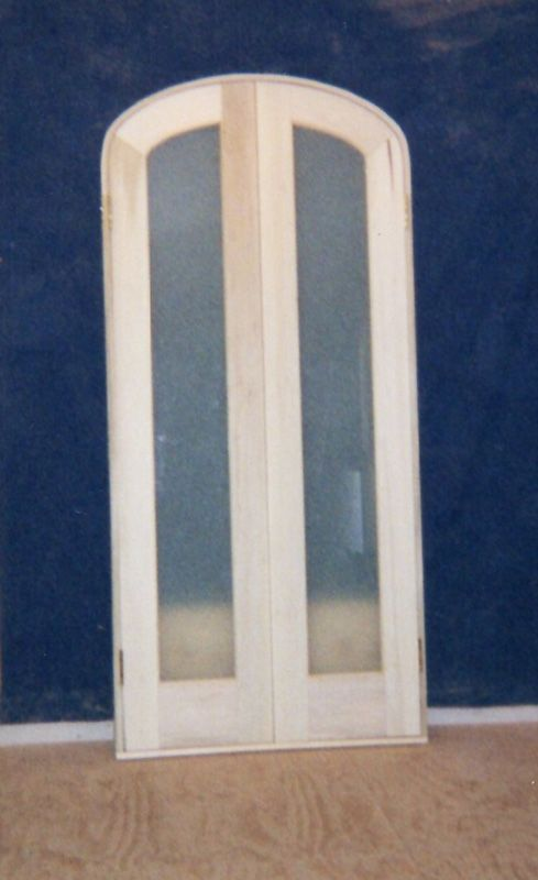 Build Custom Wood Arch Top Doors