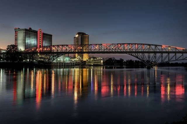 The Red River in Shreveport, Louisiana