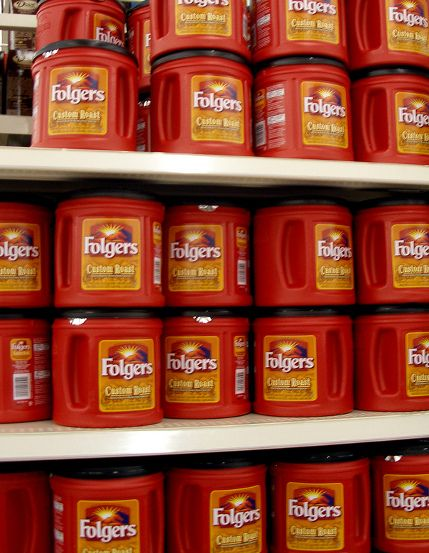Ways to reuse folgers plastic containers.. since we go through so much coffee