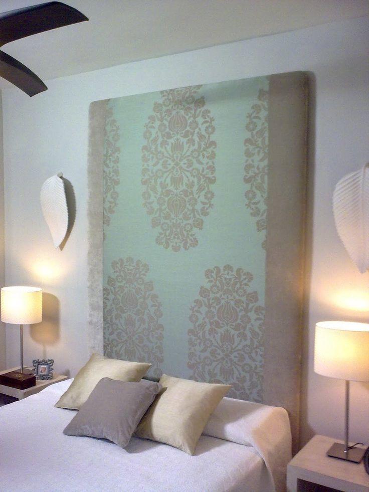 1000 ideas sobre cabecero de terciopelo en pinterest - Hacer cabeceros tapizados ...