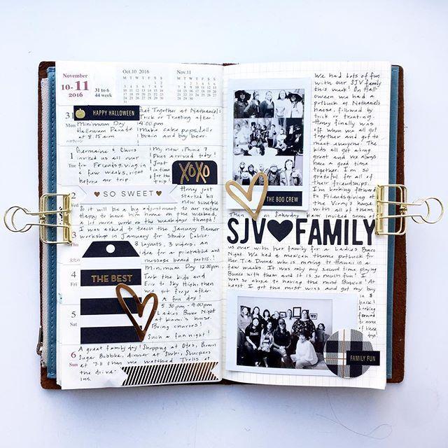 Week 44 in my traveler's notebook.                                                                                                                                                                                 More