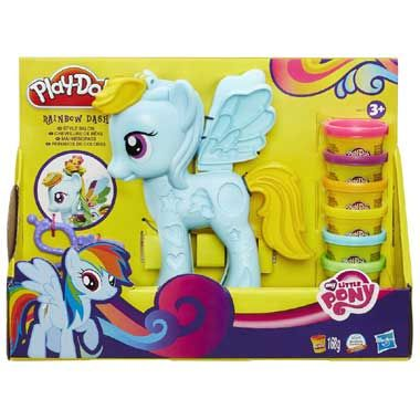 Play-Doh My Little Pony ultieme Rainbow Dash speelset