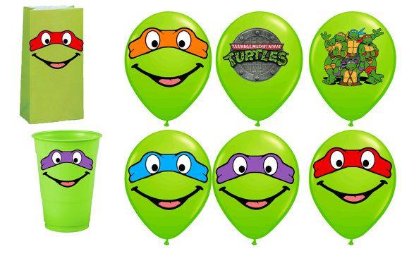 Teenage Mutant Ninja Turtles Ninja Turtles von PartysuppliesDesign