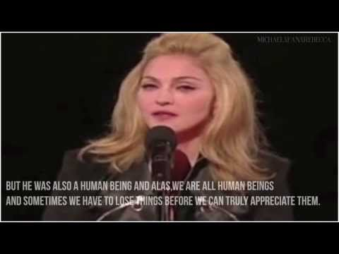 ▶ Madonna's tribute♔| LONG LIVE THE KING | ♔VMA 2009 w/subtitles HD - YouTube
