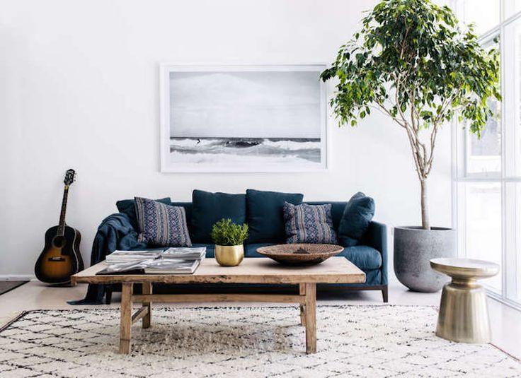 Broyhill Sofa my scandinavian home Sleek and rustic in a Sydney bachelor pad