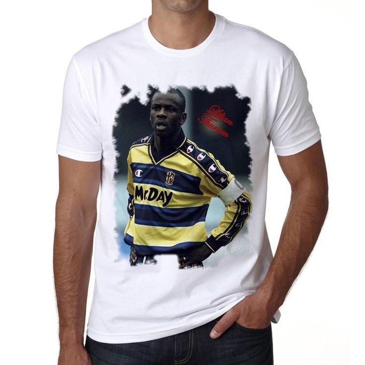 Lilian Thuram Men's T-shirt ONE IN THE CITY
