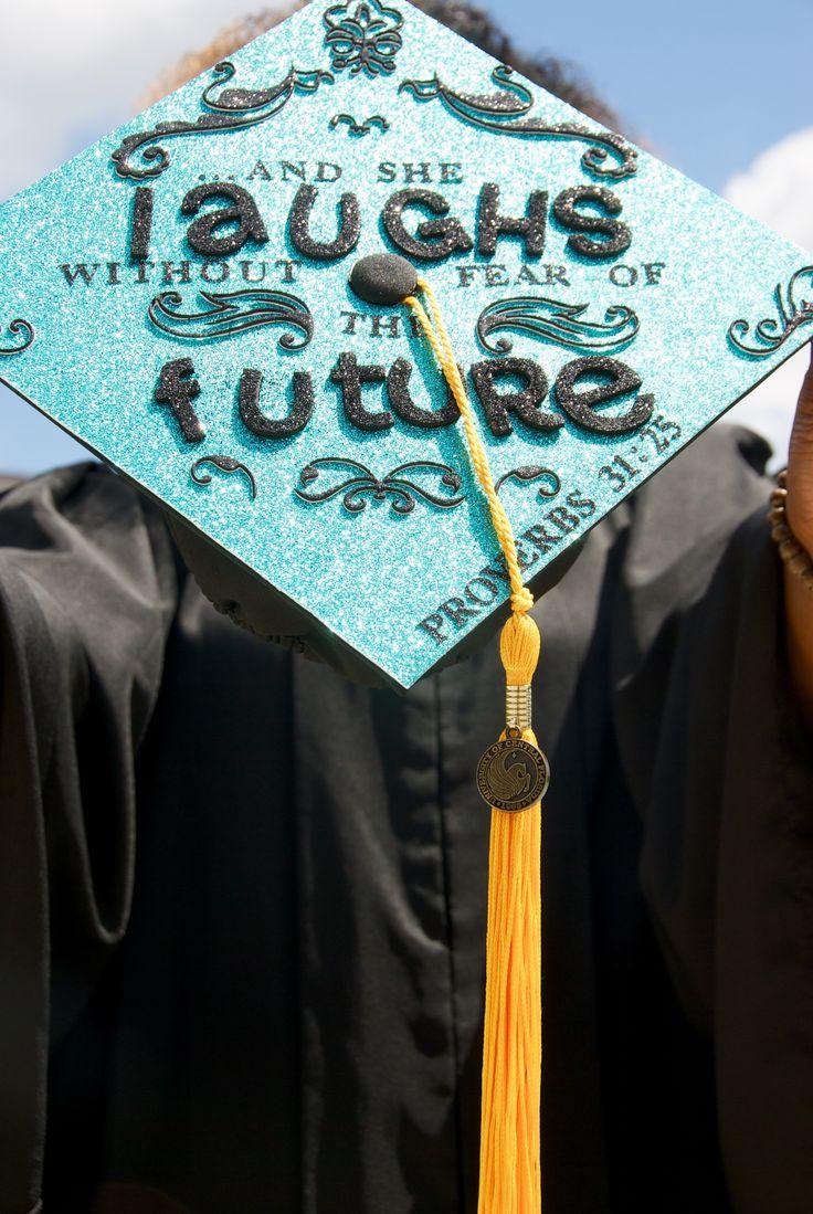 Ucf 2015 Graduation Cap Proverbs 31 25 Photo Credit