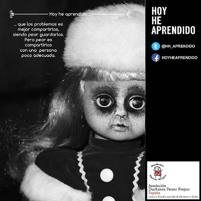 @hh_aprendido @DPPSpain #hoyheaprendido #dppspain #compartelo #hh_aprendido #retoduchenne #todossomosduchennebecker #desafioduchenne #frasedeldia
