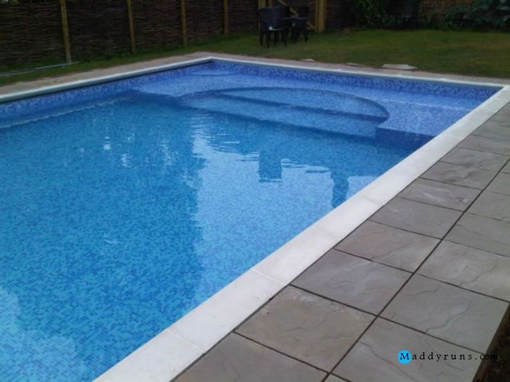 21 best images about pool ideas on pinterest decks for Walk in inground pool