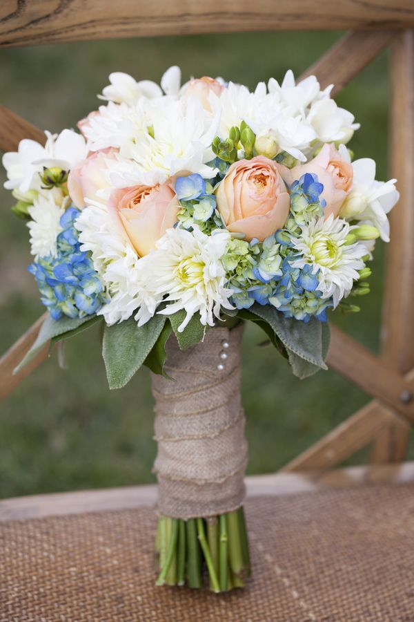 51 best blue weddings images on pinterest summer for Pastel colored flower arrangements
