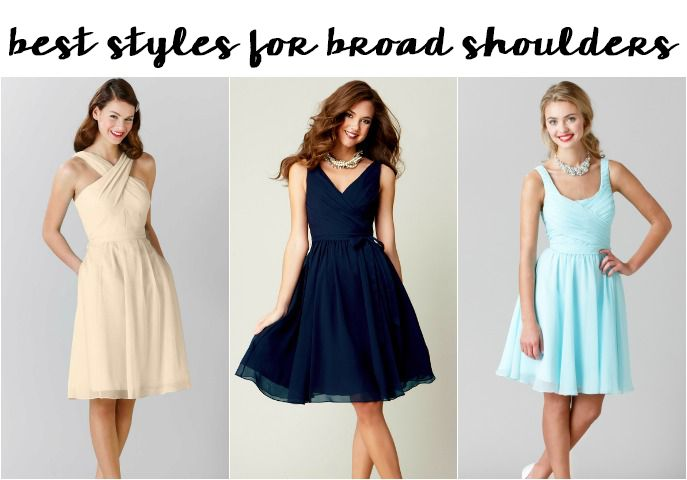 The Best Bridesmaid Dresses For Your Body A Guide To Necklines Dress Pinterest And