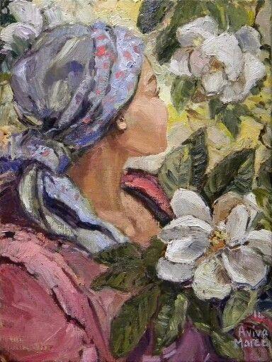 Mary pluk Magnolias Aviva Maree Art